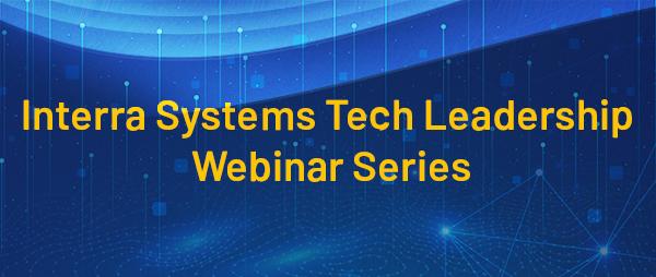 Tech Leadership Webinar Series