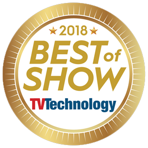 Best of show Award NAB 2018