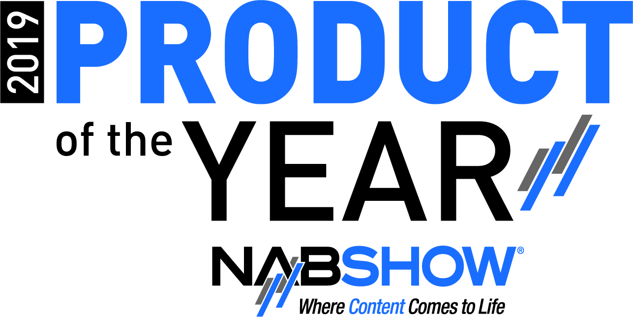 NAB Show LV 2019 Product of the Year Logo