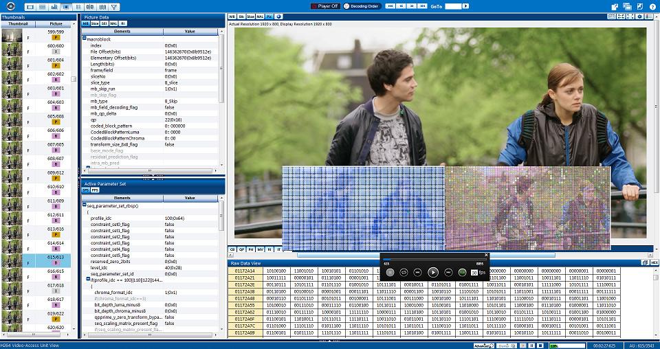 VEGA Media Analyzer | h 265 Analyzer | HEVC 4k compliance